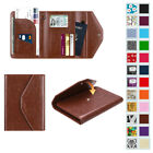 Passport Holder Wallet Trifold RFID Blocking Travel Document Organizer Case