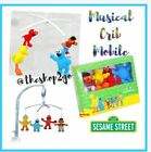 🌸 18% OFF Sesame Street Musical Crib Mobile 🌸