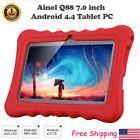 """7"""" BabyPad Learning Tablet PC Android 4.4 Quad Core 8GB 3G Kid Bundled Case US"""