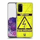 HEAD CASE DESIGNS HAZARD SYMBOLS HARD BACK CASE FOR SAMSUNG PHONES 1