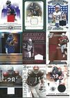Football Jersey cards - Various Years and Brands - Pick your Favorites !!