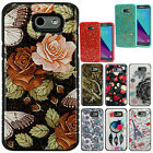 For Samsung Galaxy J3 PRIME HYBRID IMPACT Gel Fusion Hybrid Case Phone Cover