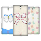 HEAD CASE DESIGNS GLASS RIBBONS HARD BACK CASE FOR SONY PHONES 2