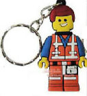 The Lego Movie PVC Keyring Key Chain Kid Party Loot Bag Fillers Gift for Her Him