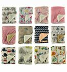 Super Soft Baby Blanket, Pram Cot Bed Blankets Throw