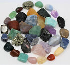 51.5kg in stone - Rough Natural + Tumbled Stone Set: You Choose (Raw Gem Crystal Healing Rock)