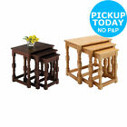 HOME Devon Nest of 3 Pine Wooden Tables - Choice of Colour -From Argos on ebay