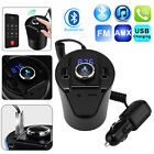 FM Transmitter Wireless Cup Bluetooth4.2 Car Radio Adapter Handsfree USB Charger