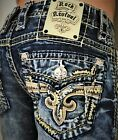 New Men's Rock Revival Scion Slim Bootcut 27 28 29 30 31 32 33 34 Regular Long on eBay