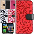 Внешний вид - For LG Stylo 3 ROSE Leather Wallet Case Pouch Flip Phone Cover Accessory