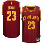 LeBron James Cleveland Cavaliers adidas Player Swingman Road Jersey Burgundy