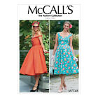 McCall's 7748 Paper Sewing Pattern to MAKE Archive Collection Dress & Cumberband