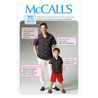 McCall's 6972 VEasy Sewing Pattern to MAKE Shorts Trousers Shirt Child or Adult