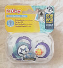 Nuby Uber Day Boy Cherry Shape Soothers  0 - 18 Mths New