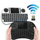 New 2.4GHz Classic Mini Wireless Keyboard Touchpad Remote for Laptop PC Smart TV