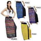 PANTS PEA Thai Cotton 2in1 Skirt Sarong Asian Hmong Ladies Trousers Thailand NEW