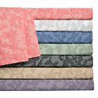 Home Styles Cotton Well off Damask Sheet Set