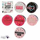 Sweet Tooth Compact Handbag Pocket Make Up Cosmetic Travel Mirror Gift Quote