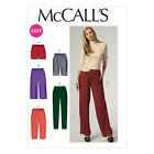 McCall's 6843 Sewing Pattern to MAKE Easy Trousers & Shorts  w/ Length Variation