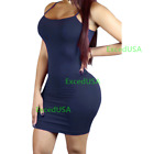 NEW Women Bodycon Bandage Casual Sleeveless Cocktail Club Mini Dress Party US