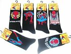 Mens Spiderman Novelty Socks Uk Size 6-11 (Eur 39-45) New