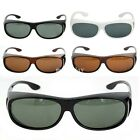 Mens Womens Polarized Sunglasses Fit Over Wrap Driving Outdoor Glasses BE