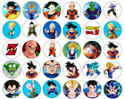 24/30/PERSONALISED - DRAGON BALL Z CUPCAKE TOPPERS RICE PAPER BIRTHDAY CHILDREN