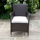BillyOh Rosario - 2/4/6/8 Seat Rattan Dining Chairs in Brown with Cushions