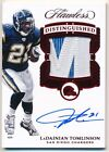 LADAINIAN TOMLINSON 2017 PANINI FLAWLESS RUBY AUTOGRAPH 2 COLOR PATCH AUTO #7/10 $139.0 USD on eBay