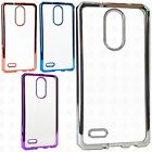 For LG Stylo 3 Chrome TPU Gel Protector Hard Skin Case Phone Cover Accessory