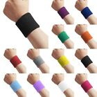 3 inch Cotton Sweatbands Wristbands Wrist Sweat Bands Gymnastics Running Cycling