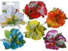 Aloha Necklaces & Blossom Hair Clips - Hawaiian Hen Beach Party Costume Hawaii