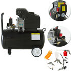 24L LITRE Air compressor 2.5HP - CE Certified, 9.6 CFM 230V Option Air Tool Kit