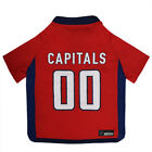 WASHINGTON CAPITALS NHL Pet Dog Mesh Football Jersey (all sizes) $18.69 USD on eBay