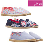 Joules Flipadrille Canvas Pumps Shoes (Y) **FREE UK Shipping**