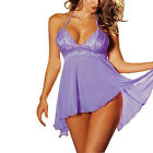 1pc Women Lady Lingerie Lace Dress Underwear Temptation Plus Size Sexy Sleepwear