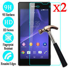2X 9H Tempered Glass Screen Protector Film Guard For Sony Xperia XA Z4 XZ2 M5 T3 comprar usado  Enviando para Brazil