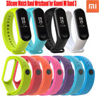 For Xiaomi MI Band 3 Wrist Band Strap Replacement Bracelet Watch Silicone Rubber image