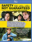 SAFETY NOT GUARANTEED (Blu-ray Disc, 2012) New / Factory Sealed / Free Shipping