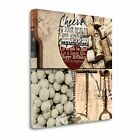 Raise Your Glass By Lisa Wolk,  Gallery Wrap Canvas