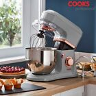 cooks professional stand mixer 6 speed hook beater whisk 4 5l mixing bowl 800w