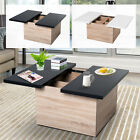 Modern Storage Coffee Table With Sliding Top Mdf, Chipboard Living Room