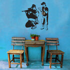 Banksy 'Sniper and Silly Boy' Vinyl Wall Decal