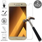 For Samsung Galaxy A3 A5 A7 A8 A9 2Pcs Protective Screen Protector Guard Glass comprar usado  Enviando para Brazil