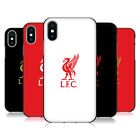 LIVERPOOL FC LFC LIVER BIRD BLACK SOFT GEL CASE FOR APPLE iPHONE PHONES