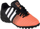 Adidas Nitrocharge 4.0 TF Kids Boys Astro Turf Black Football Boots Trainers