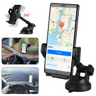 360° Car Mount Qi Wireless Fast Charging Charger Holder For Samsung iPhone X 8