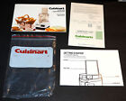 Cuisinart Little Pro Food Processor Parts / Accessories - Unused Mint - FREE SHI