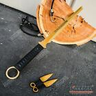 "27"" NINJA SWORD TANTO Machete + 2 Knife Full Tang Tactical Blade Katana"