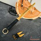"Купить 27"" NINJA SWORD TANTO Machete + 2  Knife Full Tang Tactical Blade Katana"